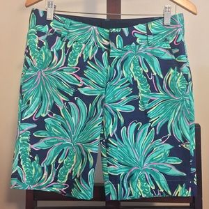 Lilly Pulitzer Tiger Palms Chipper Shorts